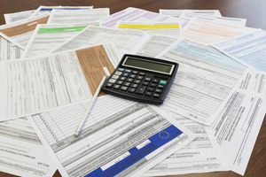 Year-end accounts and tax returns services